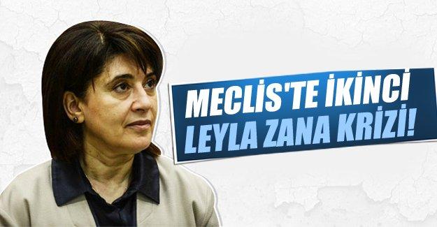 Leyla Zana Kürtçe konuştu Meclis karıştı