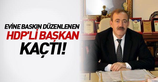 Mersin'de 9 kişiye gözaltı! HDP'li başkan kaçtı