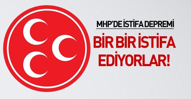 MHP Kırşehir Teşkilatındaki İstifalarla Sarsıldı