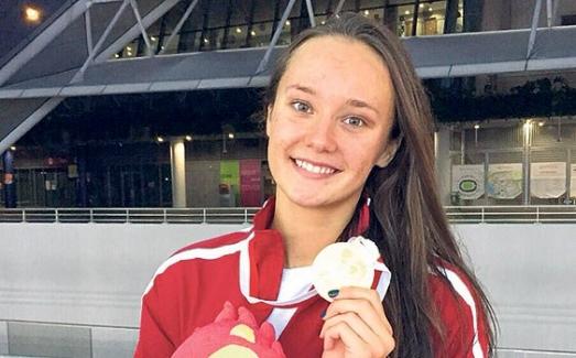 Milli yüzücü Viktoria Zeynep Güneş Dünya Kupası'nda bronz madalya kazandı!