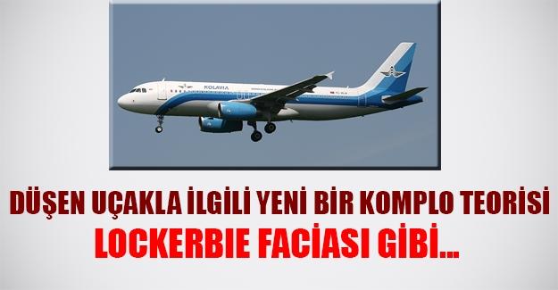 Mısır'da düşen uçakla ilgili yeni bir komplo teorisi geliştirildi! Lockerbie faicası gibi...