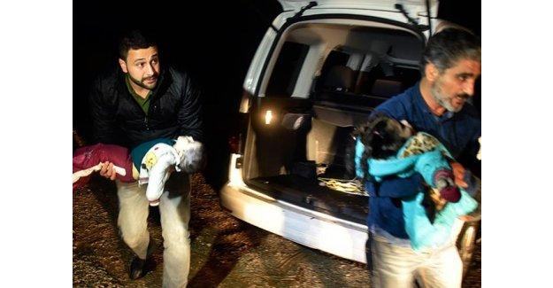 Mültecileri taşıyan tekne battı: 2 çocuk öldü