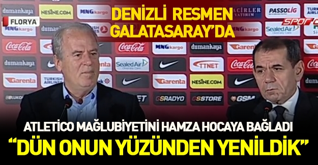 Mustafa Denizli resmen Galatasaray'da!