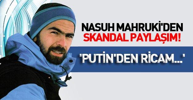 Nasuh Mahruki'nin Putin tweeti tartışma yarattı!