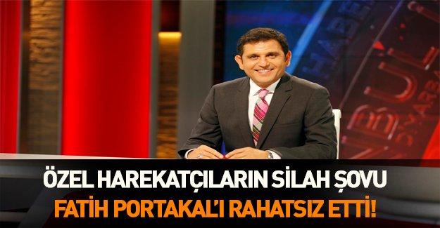 Özel harekatçıların şovu Fatih Portakal'ı rahatsız etti!