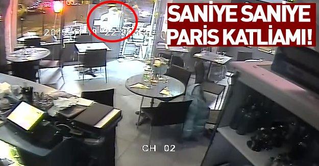 Paris'teki saldırıların şok görüntüleri! VİDEO İZLE