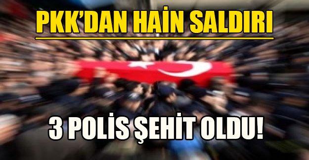 PKK'dan hain saldırı! 3 asker şehit oldu...