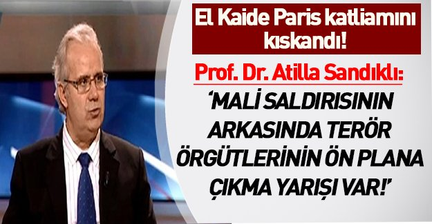 Prof.Dr Atilla Sandıklı'dan flaş komplo teorisi! İşte Mali'deki rehine krizinin perde arkası