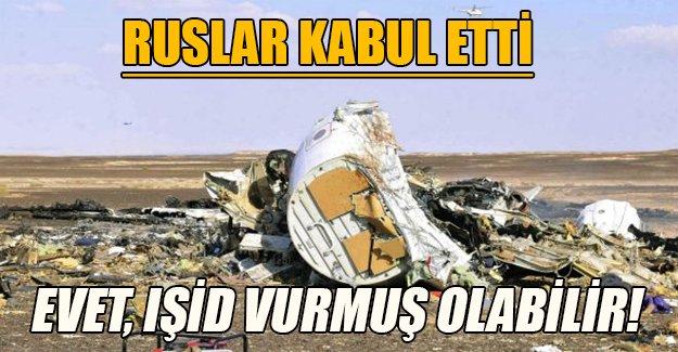 Ruslar yavaş yavaş kabul ediyor: Mısır'daki uçağı IŞİD düşürdü
