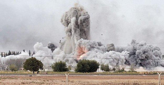 Rusya'dan IŞİD'e ağır darbe! Tek noktada 600 IŞİD'li öldürüldü!