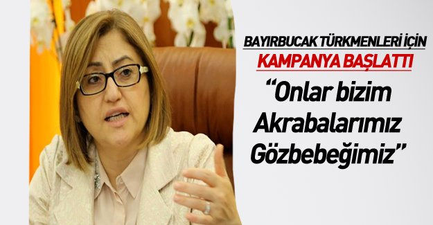 Şahin'den Bayırbucak Türkmenleri için kampanya!