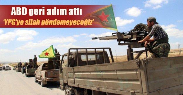 """Seçim sonuçlarını gören ABD geri adım attı: """"YPG'ye silah vermeyeceğiz"""""""