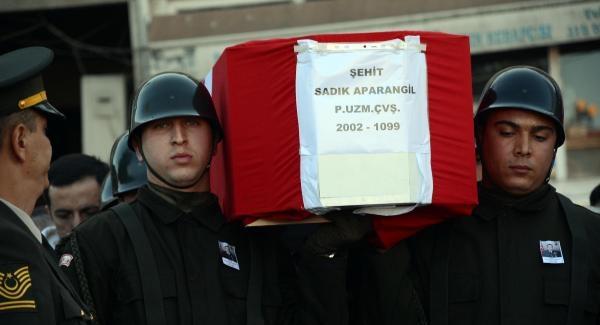 Şehit uzman çavuş Sinop'ta toprağa verildi!