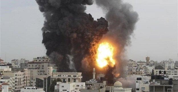 SON DAKİKA: İsrail savaş uçakları Gazze'yi vurdu!