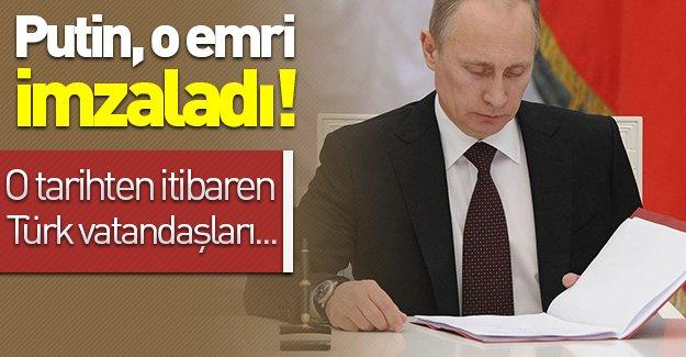 SON DAKİKA: Putin o emri imzaladı! Rusya'dan Türkiye'ye yaptırım!