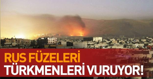 Suriye'den acı haber! Türkmen köyleri vuruluyor!