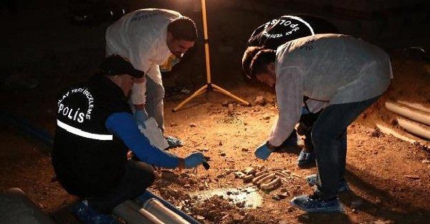 Taksim Meydanı'nda bulunan kemikler Adli Tıp Kurumu'na götürüldü!