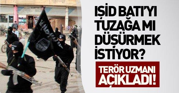 Terör uzmanından flaş iddialar: IŞİD Batı'yı tuzağa düşürmek istiyor