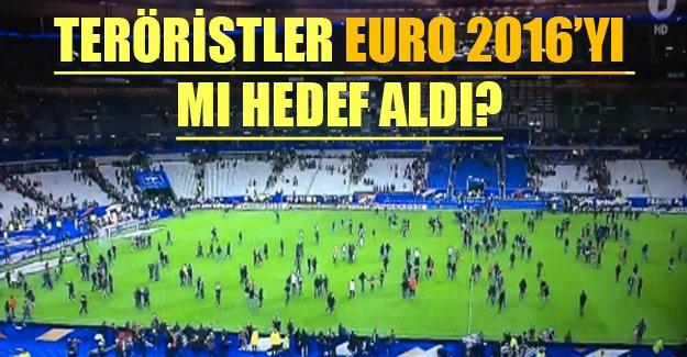 Teröristler EURO 2016'yı mı baltalamaya çalıştı! Stada giremeyince üzerindeki bombayı patlattı