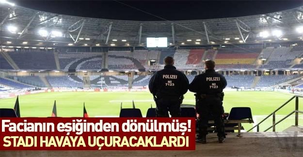 Teröristler stadı seyircilerle birlikte havaya uçuracaktı! Facianın eşiğinden dönüldü