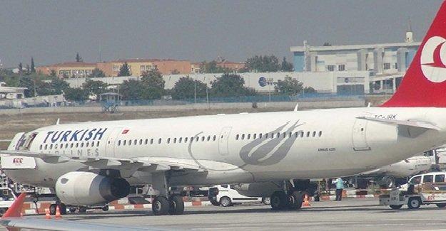 THY uçağında panik!