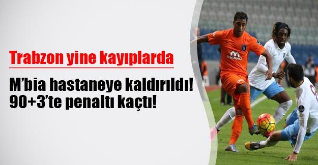 Trabzon'da kötü gidiş sürüyor! Medipol Başakşehir: 1 - Trabzonspor: 0