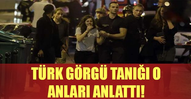 Türk görgü tanığı: Kadın gözünden vuruldu, kafasını tutarak yere düştü