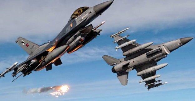 Türk jetleri IŞİD'i vurdu! Örgüt Suriye sınırında büyük yara aldı!