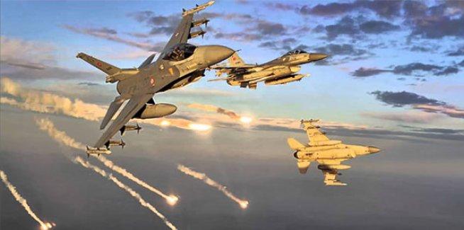 Türk Jetleri PKK Kamplarını Bombalıyor