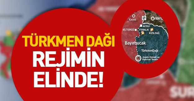 Türkmen Dağı düştü! Esed güçleri, Kızıldağ'ı aralıksız bombalıyor