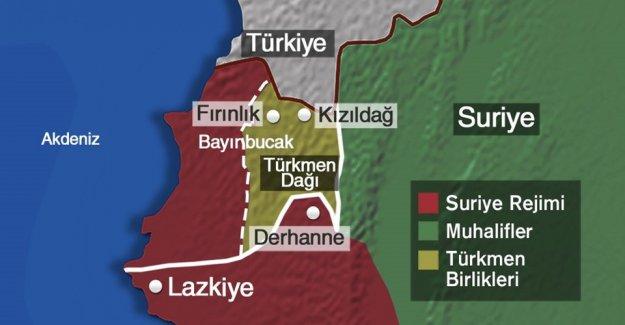 Türkmenler Kızıldağ'ı tekrar ele geçirdi