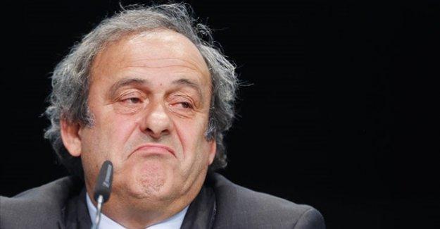 UEFA Başkanı Platini'yi korkutan iddia! Futboldan ömür boyu men ediliyor mu?