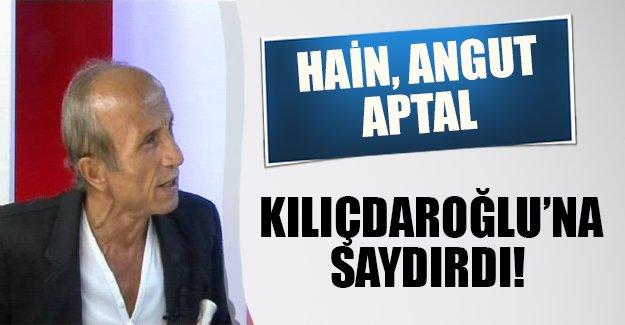 Yaşar Nuri Kılıçdaroğlu'na fena saydırdı: Angut, aptal, hain...