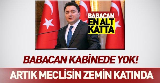 Yeni kabinede şok eden gelişme: Ali Babacan kabinede yok!