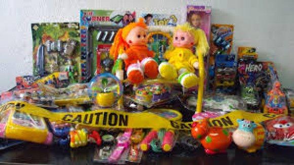 3 milyon zehirli oyuncak yakalandı!