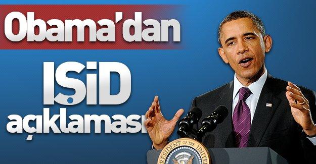 ABD Başkanı Obama'dan IŞİD açıklaması!