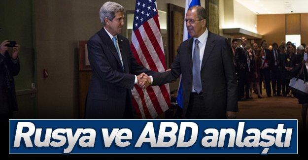 ABD ile Rusya terör konusunda anlaştı