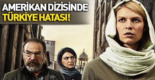 ABD yapımı dizide Türkiye için büyük hata!