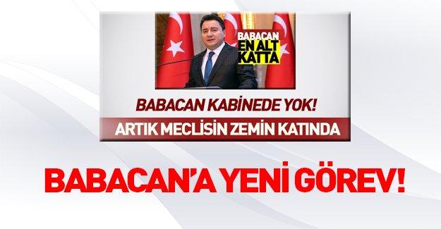 Ali Babacan'a yeni görev!