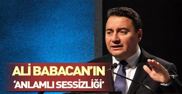 """Ali Babacan'ın """"anlamlı sessizliği!"""" Babacan şimdi ne yapacak?"""