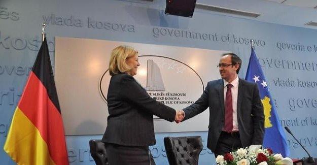 Almanya'dan Kosova'ya 17 milyon euroluk yardım!