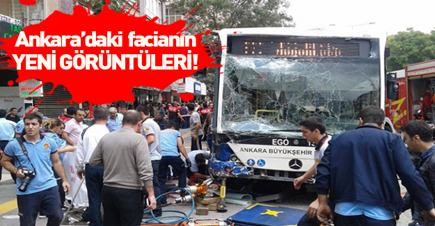 Ankara'da 12 kişinin öldüğü otobüs faciasının yeni görüntüleri ortaya çıktı!