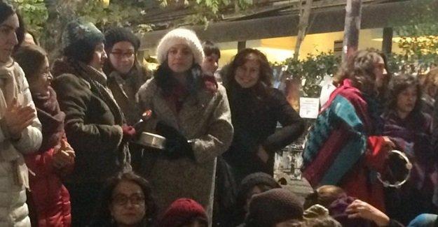 Ankara'da tencere tavalı PKK yanlısı eylem!