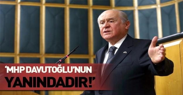 Bahçeli'den terör mücadelesinde hükümete tam destek