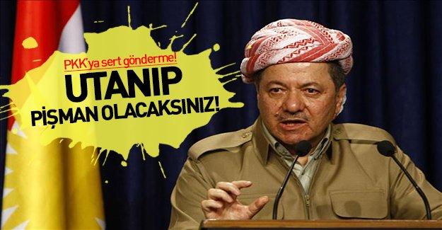 Barzani'den PKK'ya sert gönderme