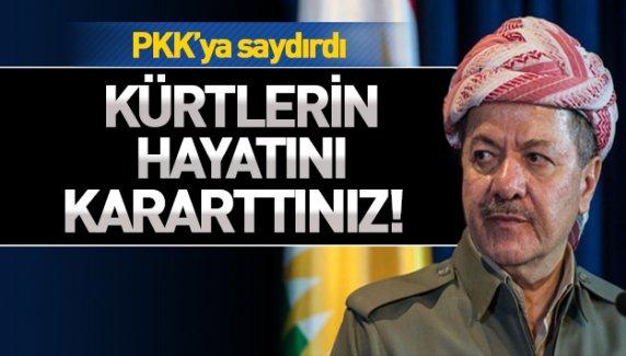 Barzani'nin partisi KDP'den PKK'ya sert tepki