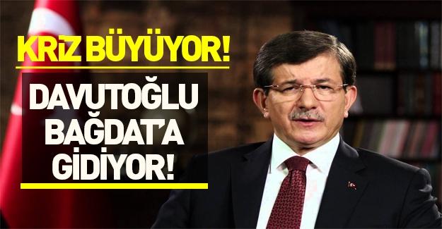 Başbakan Davutoğlu: En kısa zamanda Bağdat'a gideceğini açıkladı