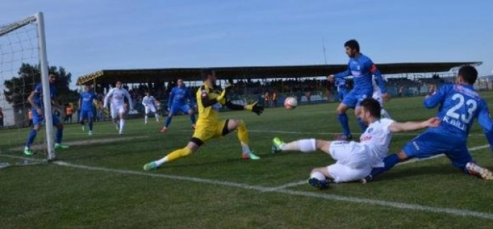Bursa Nilüferspor-Turgutluspor: 1-0 (Maç sonucu)