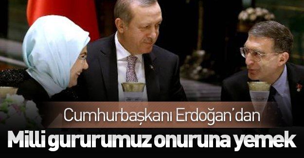 Cumhurbaşkanı Erdoğan, Aziz Sancar onuruna yemek düzenledi!