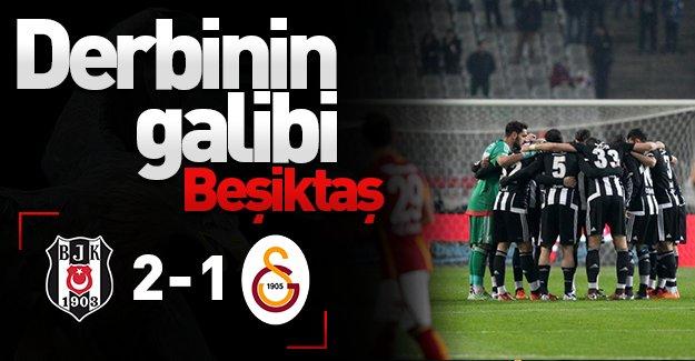 Dev derbinin kazananı Beşiktaş! Aslan'ı deviren Kara Kartal zirveye kondu! (Beşiktaş 2-1 Galatasaray) Maç özeti!